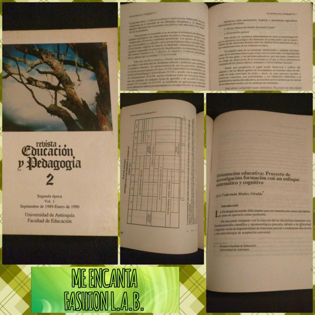 Vendo o permuto revista educación y pedagogía 2 GRATIS