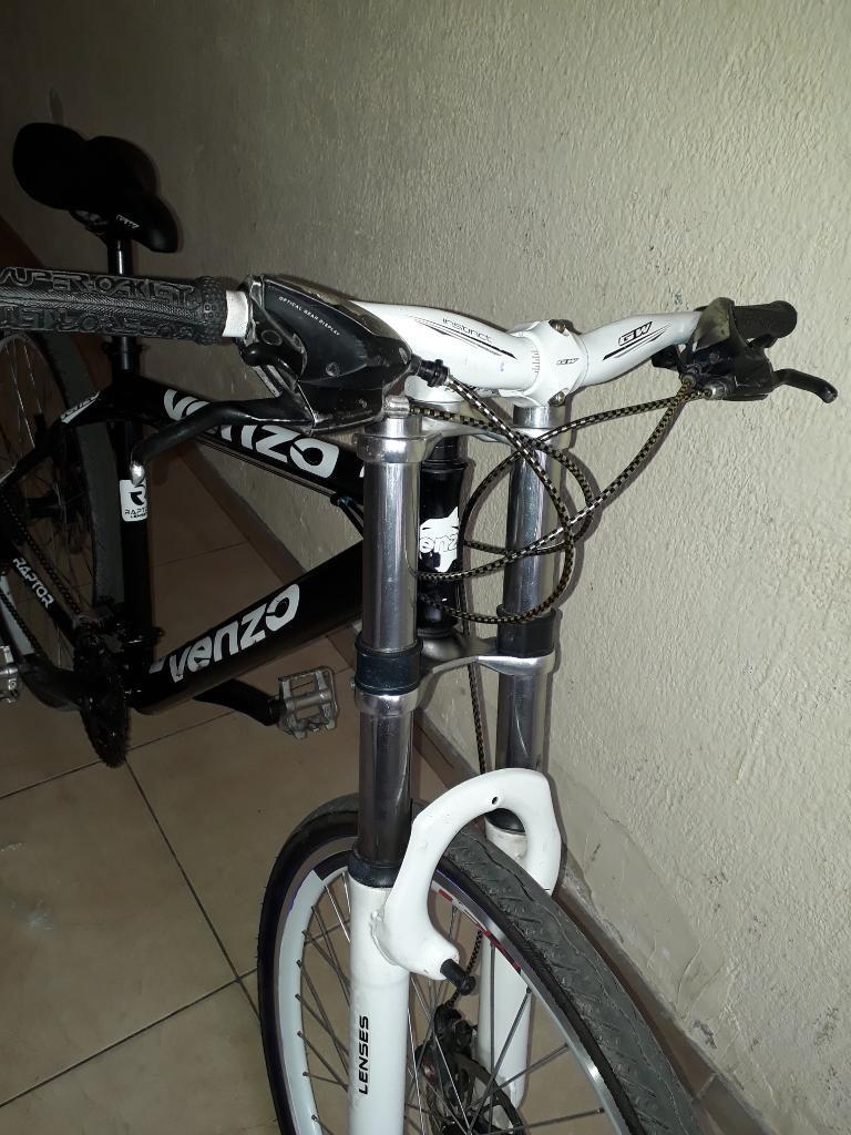 Bicicleta en Aluminio