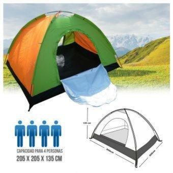 Carpa Camping 4 Personas Colores