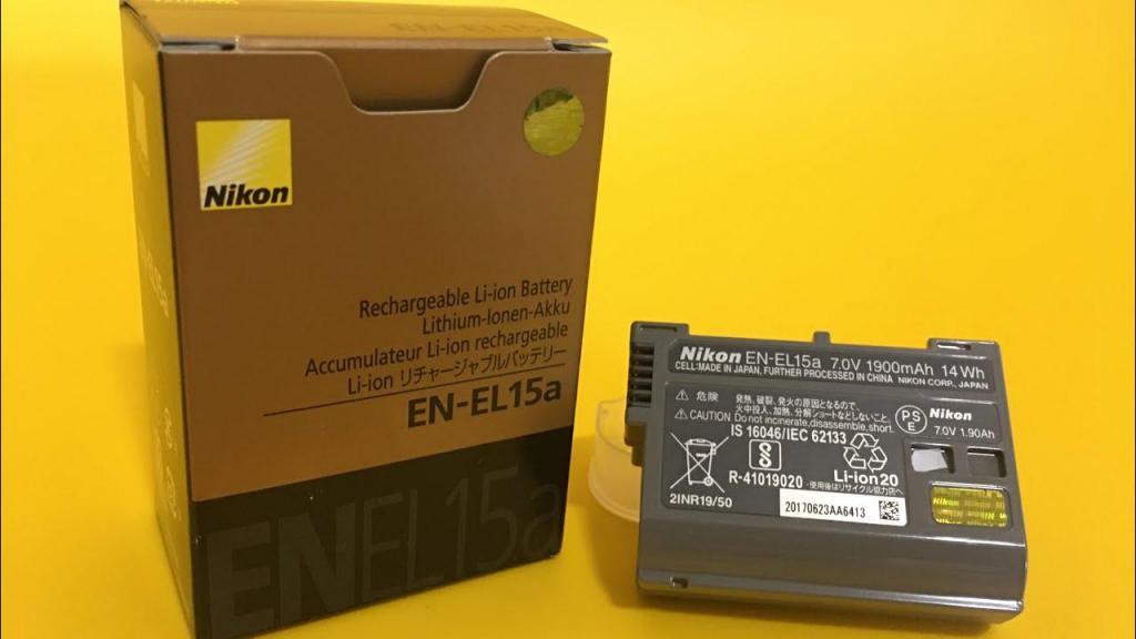 Bateria En El15a Para Nikon D / D / D750 Etc