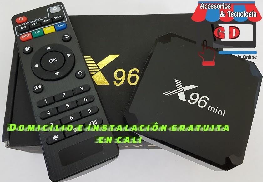 CAJAS TV BOX CON 2 GIGAS DE RAM Y 16 G DE MEMORIA INTERNA