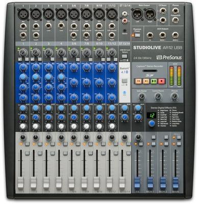 CONSOLA DIGITAL PRESONUS STUDIOLIVE AR12 USB