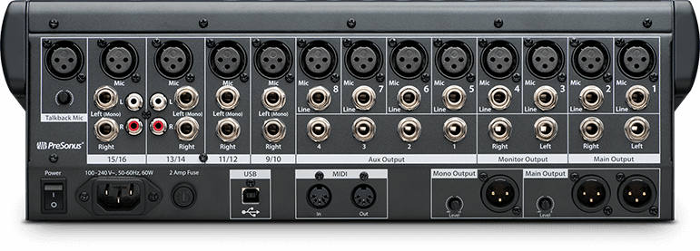 CONSOLA DIGITAL PRESONUS TUDIOLIVE  USB