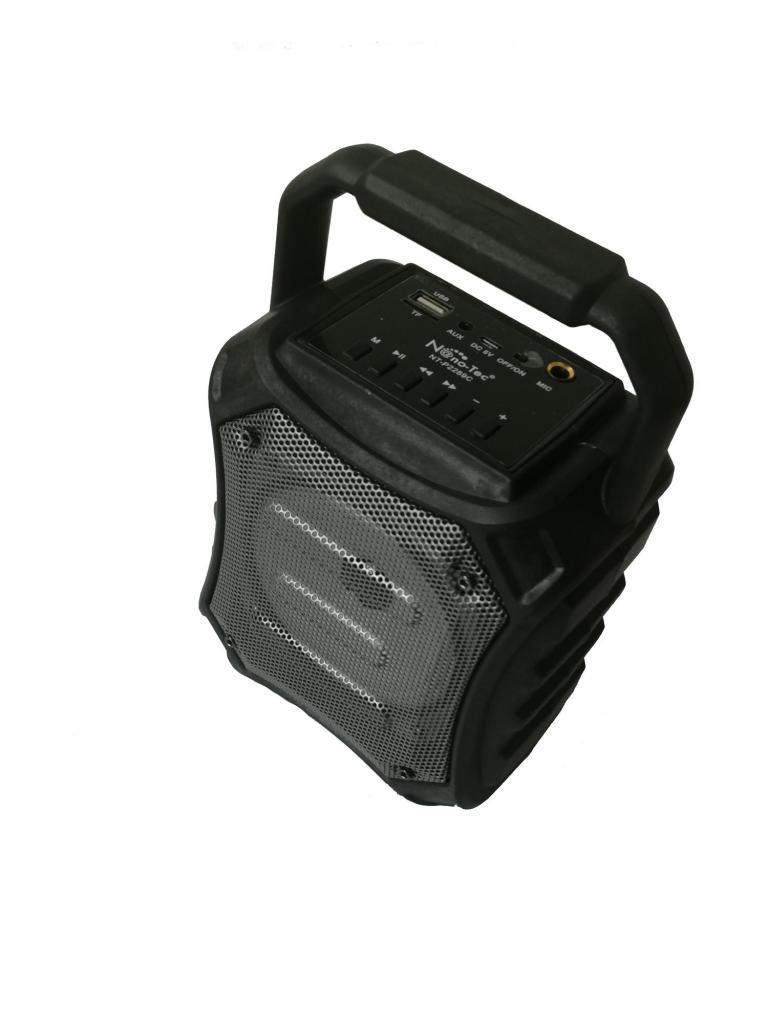 Cabina De Sonido Parlante Recargable Con Bluetooth Y Extra