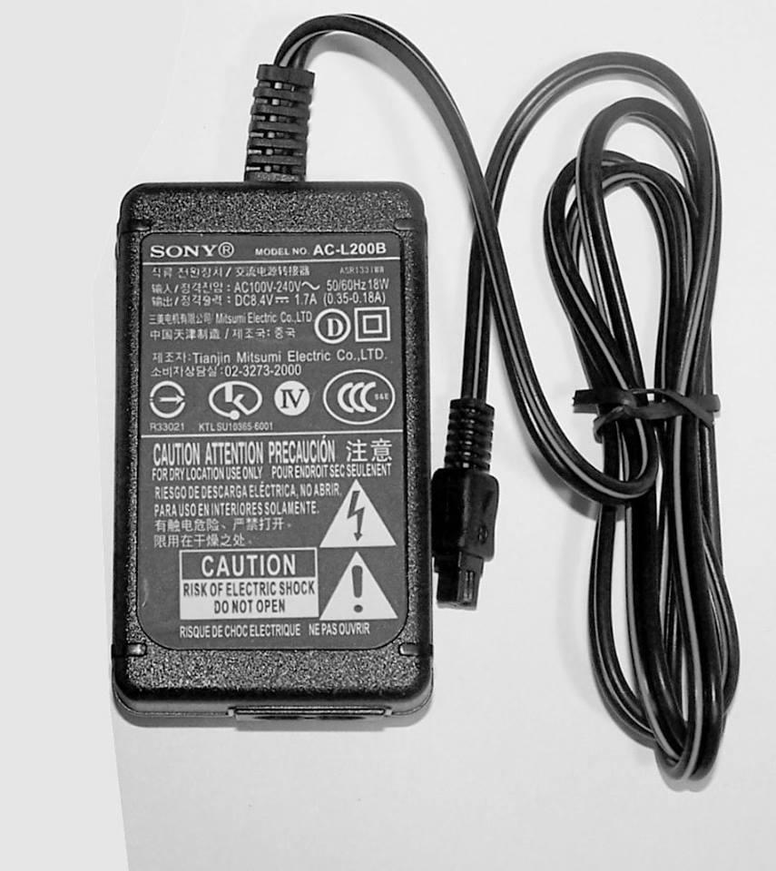Cargador Sony Original para videocamaras baterías