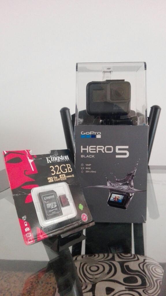 Gopro Hero 5 Black Micro Sd 32 Gb
