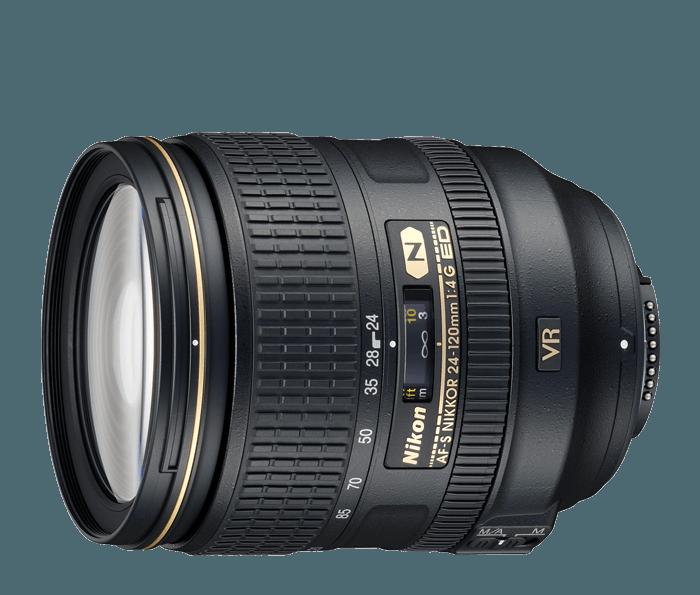 Lente Nikon Afs mm 1: 4 G Ed Vr N Sacado Caja