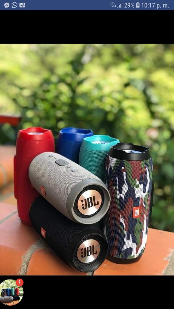 Parlantes Tipo Jbl Charge 3