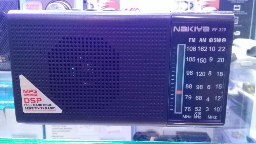 Radio Nuevo Recargable