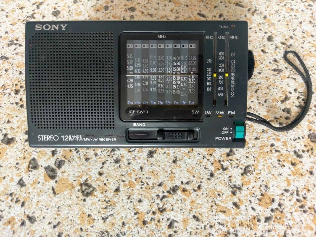 Radio Sony Multibandas Icf Swbandas