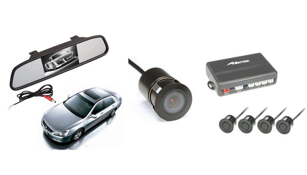 Sensores de Reversa con Cámara BT