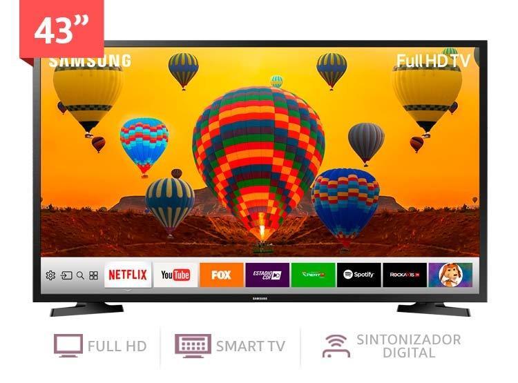 TELEVISOR SAMSUNG 43 MODELO  SMART TV FULL HD