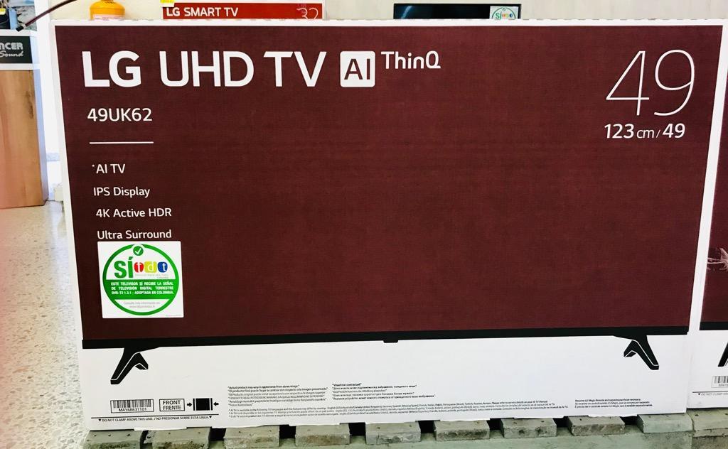 "Televisor Lg 49"" Uhd -4K -Web Os -49UkPda"