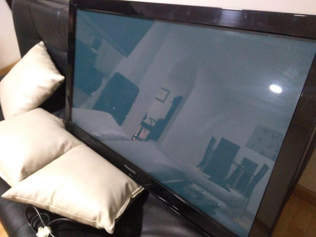 aproveche televisor panasonic viera plasma de 40 hermosa