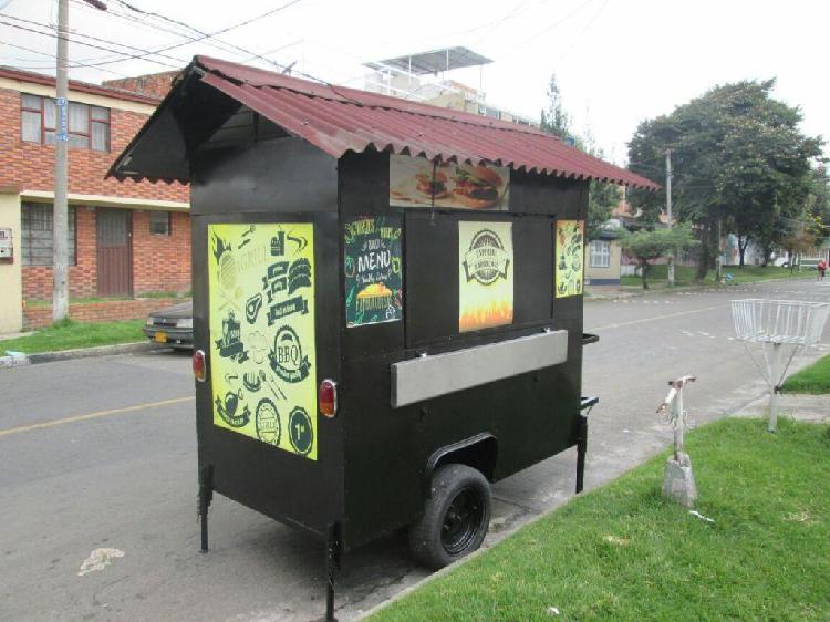 Carro comidas Rapidas Trailer para negocio