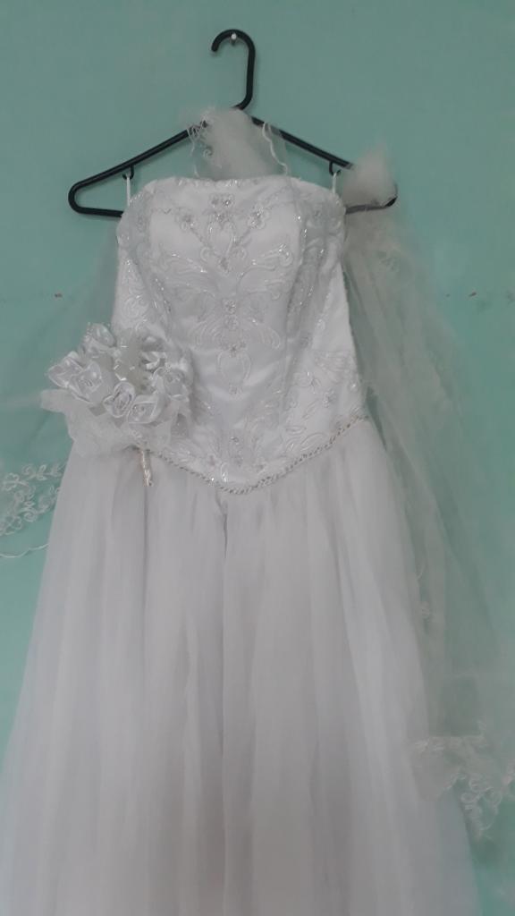 Hermoso Vestido de Matrimonio