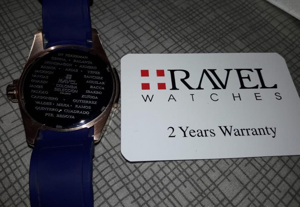 Reloj Barato Original Ravel Zafiro Mod.Selección Colombia