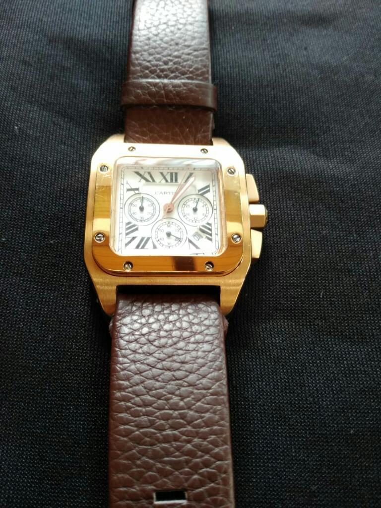 Reloj Cartier de Santos