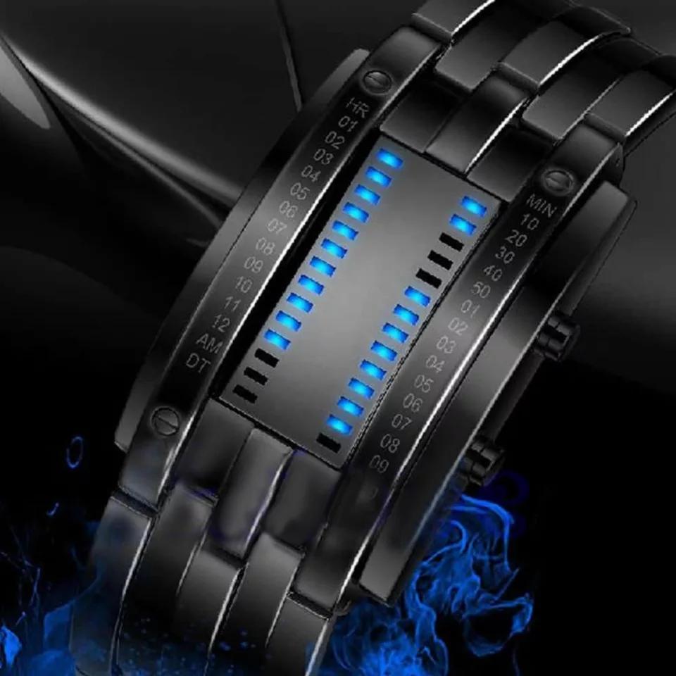 Reloj Led Estilo Futurista