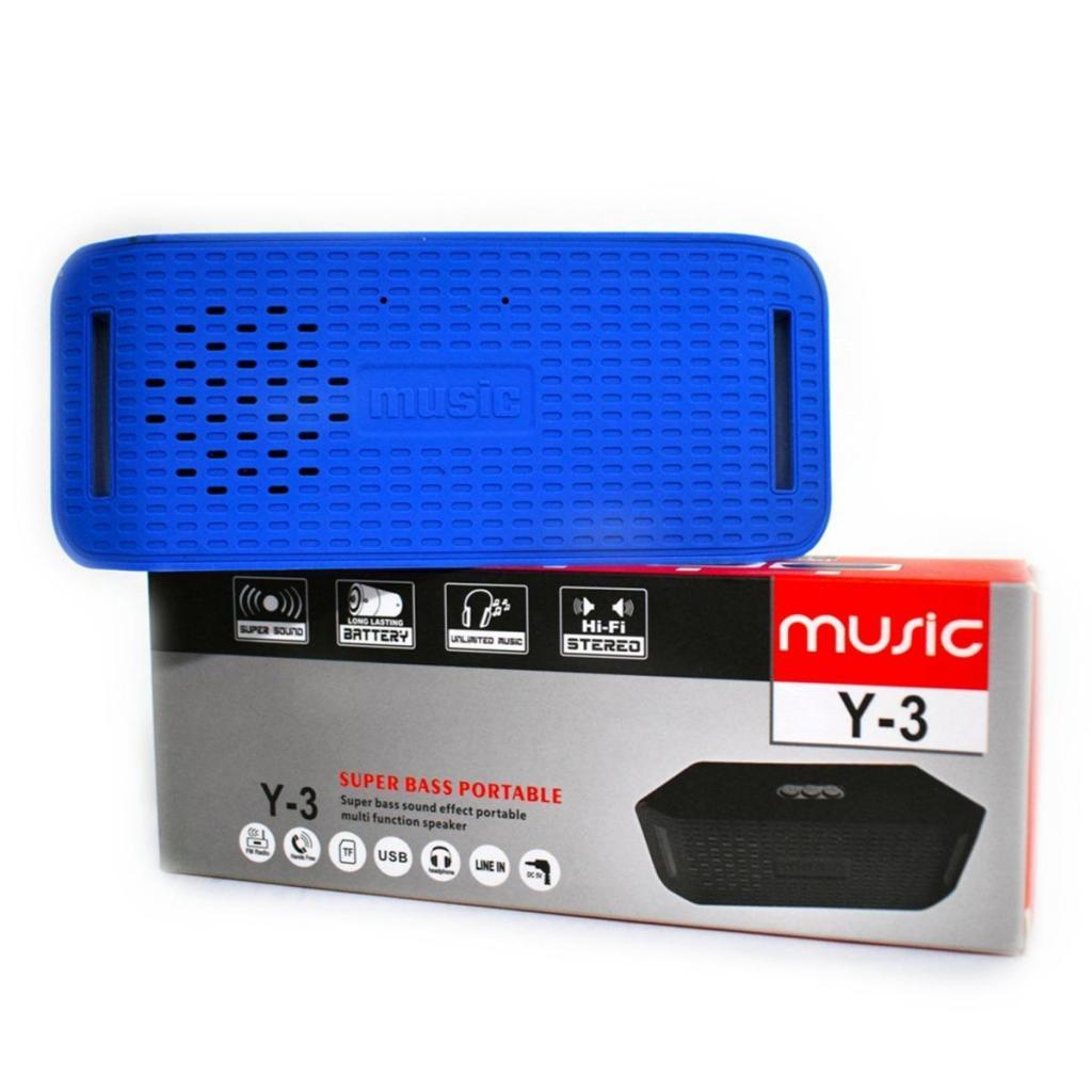 Speaker Parlante Bluetooth Con Radio Fm Sd Modelo Y3