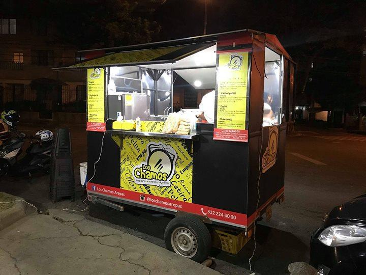 trailer de comidas