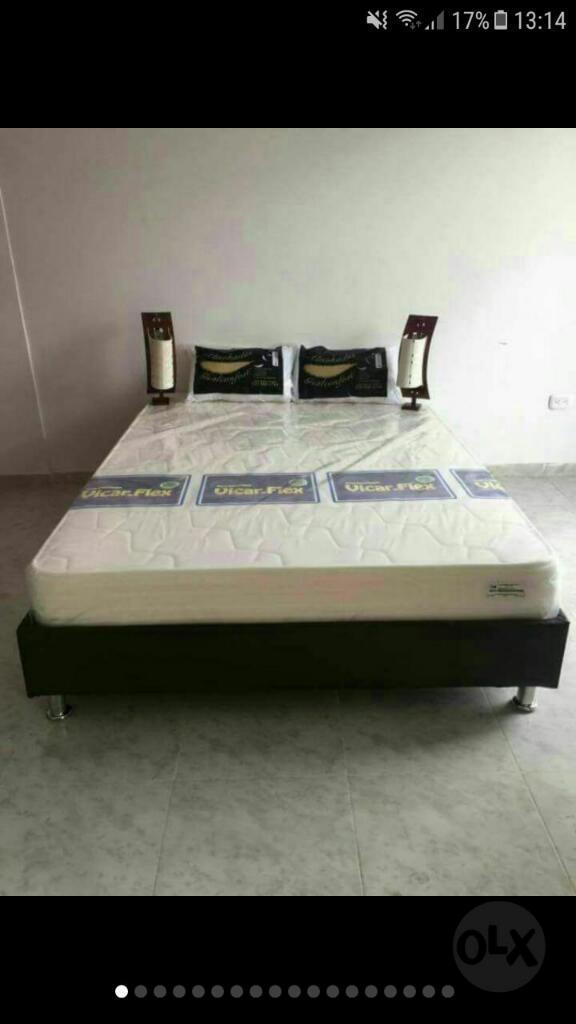 Gran Oferta de Base Cama Duplez de 1.40x 190 cm colchón