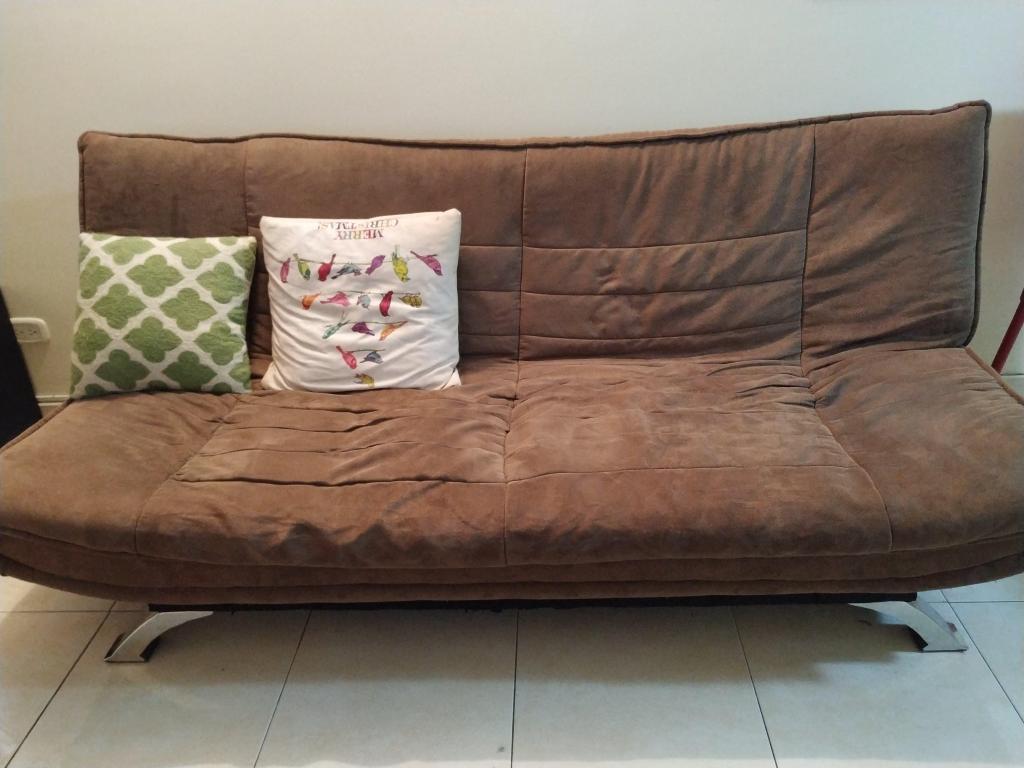 Sofa cama en pana