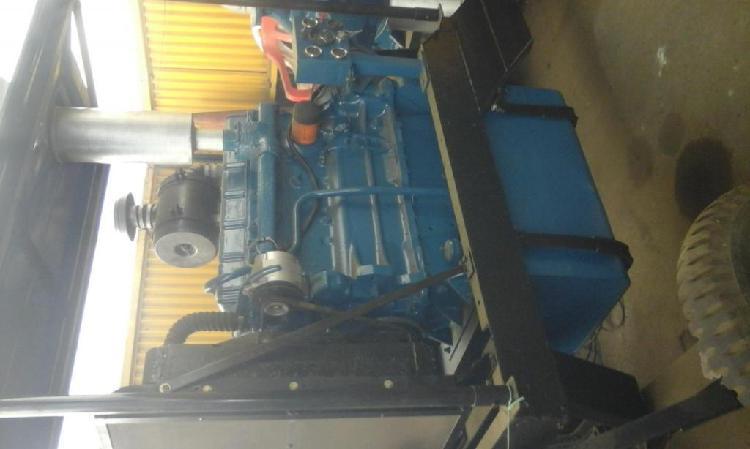 moto bomba halberg 12540 con motor diesel de 6 cilindros