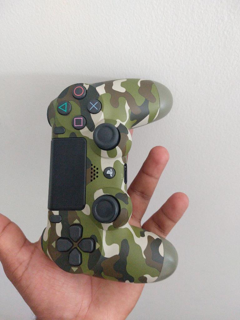 Control Ps4 Play 4 Camuflado Seg Generac