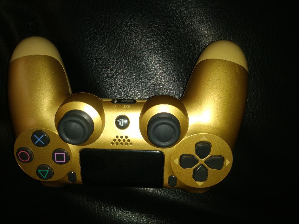 Control Ps4, Play 4 Dorado. 2 Generación