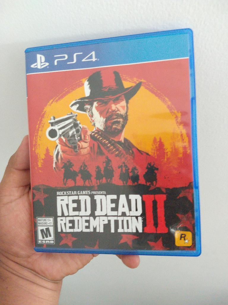 Juego Ps4 Play 4 Red Dead Redemption 2