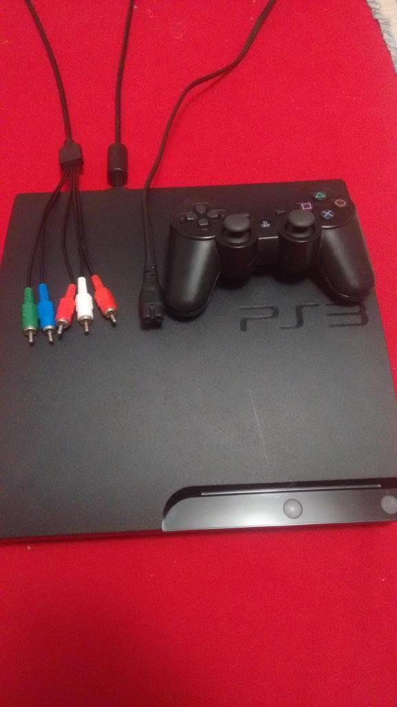 PlayStation 3 Slim 160 GB 20 juegos.