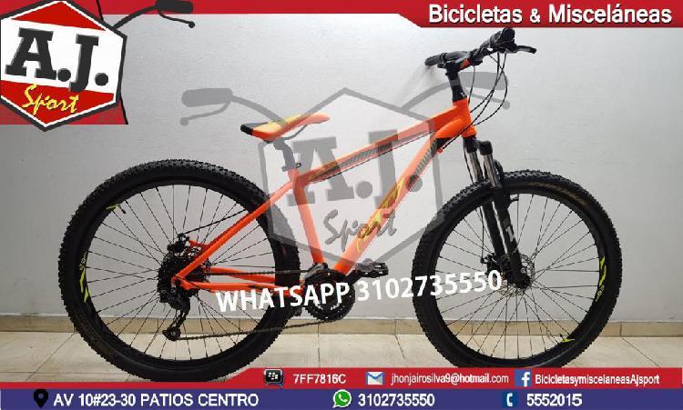 BICICLETA 29 GW LYNX EN ALUMINIO 2019