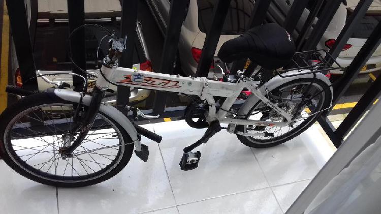 Bicicleta Plegable Stl Aluminio Rin20