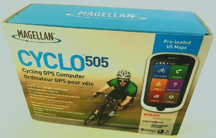 CICLOCOMPUTADOR GPS PARA CICLISMO MAGELLAN 505 CON TODOS LOS