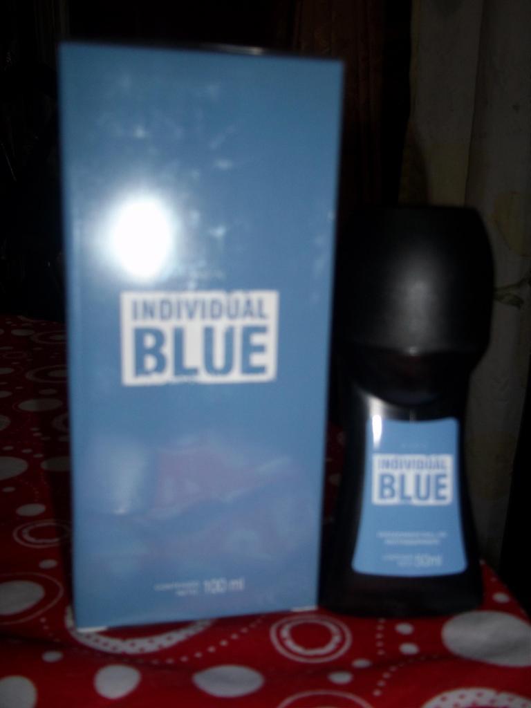 COLONIA INDIVIDUAL BLUE CON DESODORANTE PERFUME LOCION PARA