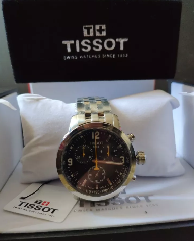 Reloj Hombre Tissot Prc200 Negro Original