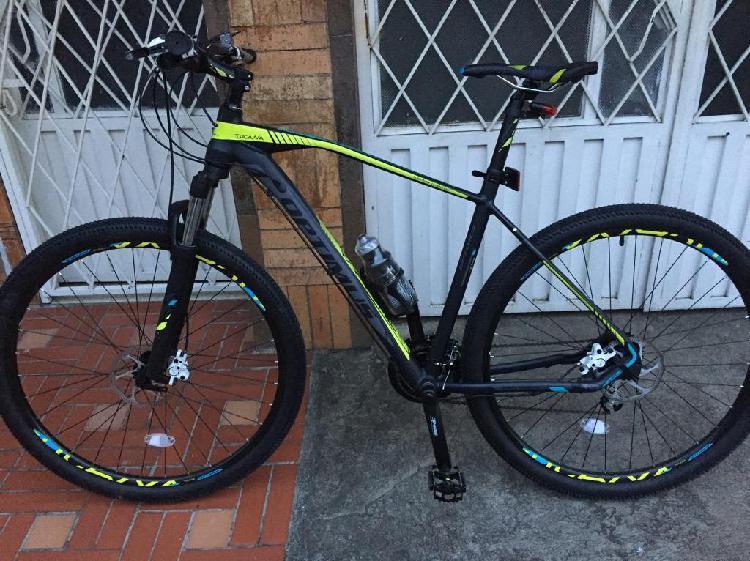 Vendo Bicicleta Optimus Tucana Rin 29