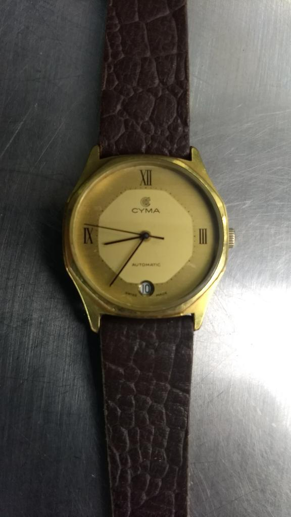 Vendo Cambio Reloj Cyma Automatico