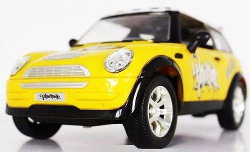 Carro Control Remoto Mini Cooper Pilas Recargables