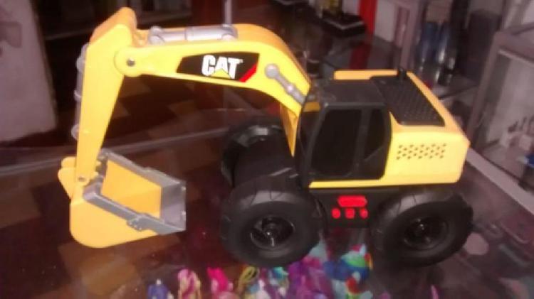 Juguete Hermosa Retoexcavadoa marca CAT con sonidos... $