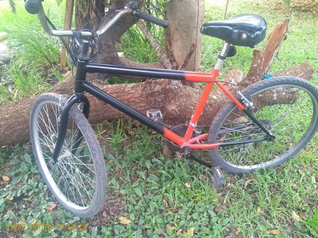 bicicleta rines en aluminio 26, con papeles