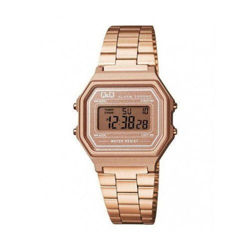 Reloj Q&q Retro M173j006y Oro Rosa Mujer Envio Gratis
