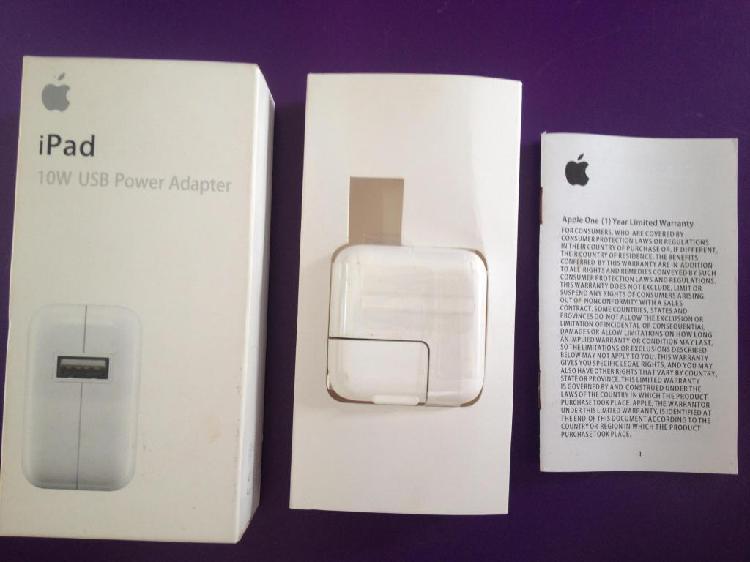 Adaptador De Corriente Usb 10w Compatible Apple