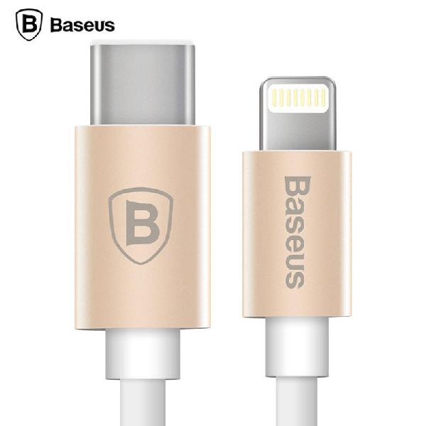 Cable de datos Usb C a Lightning para iPhone 7 y macbook o