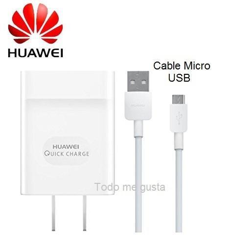 Cargador Carga Rapida Huawei 9v 2Amp original domicilio