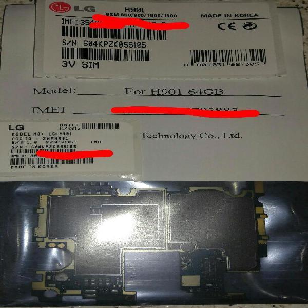 Celular Lg V10 H901 Tarjeta Madre Board