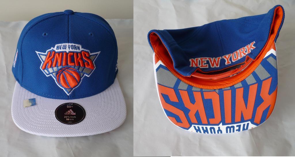 Gorra adidas Nba New York Knicks Snapback Visera Plana
