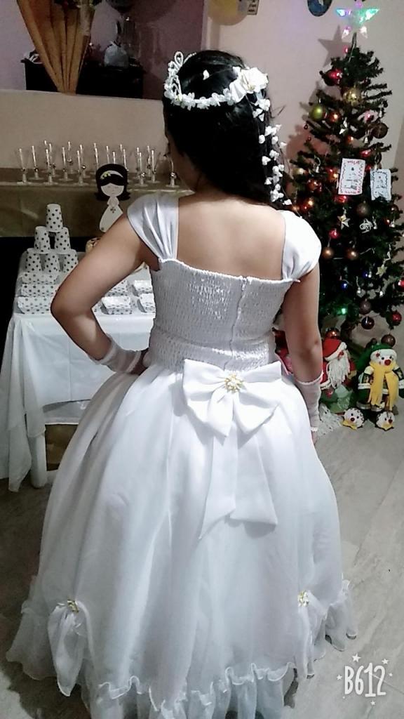 vendo vestido de primera comunión talla 14