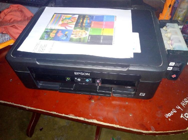 Impresora Epson Multifuncional L 210
